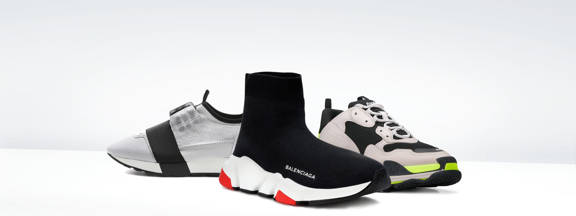 Buy new Balenciaga Sneakers unauthorized