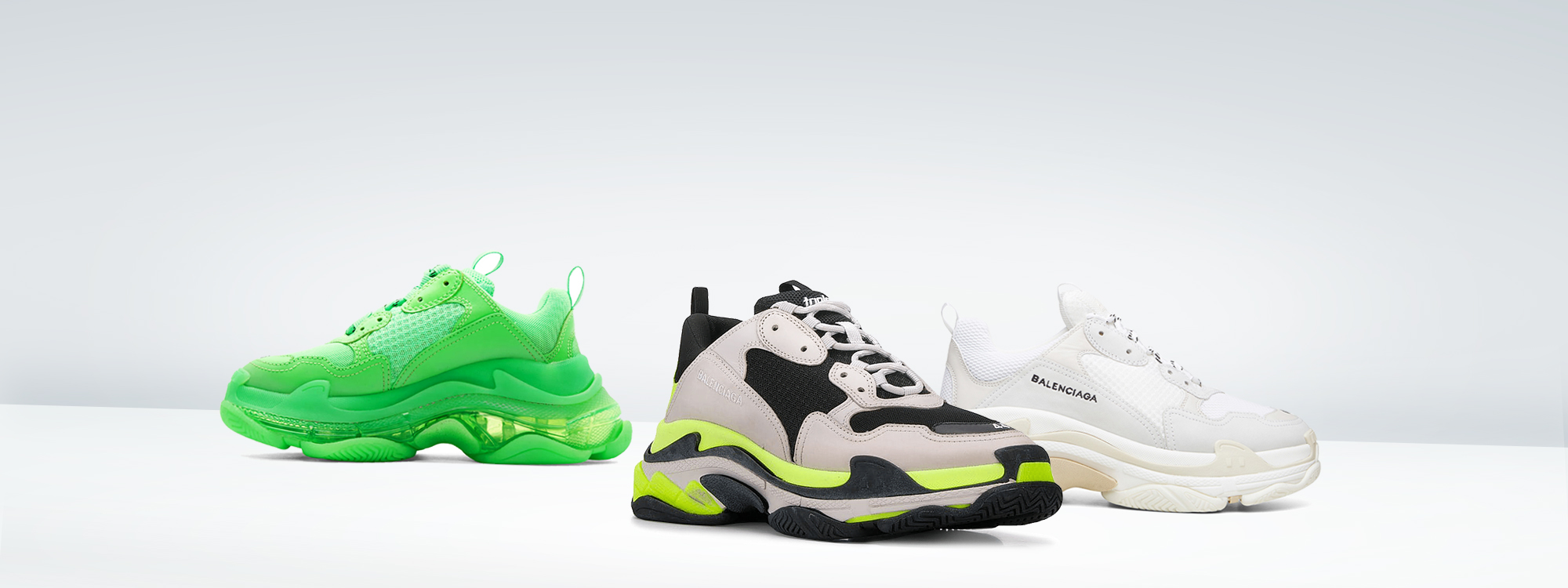 Buy new  Balenciaga  Triple S Trainers  unauthorized
