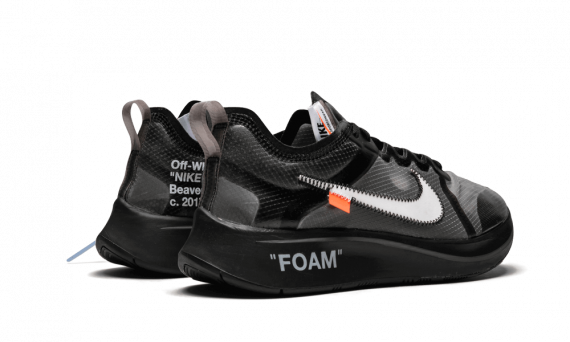 Off-White x Nike Zoom Fly Black