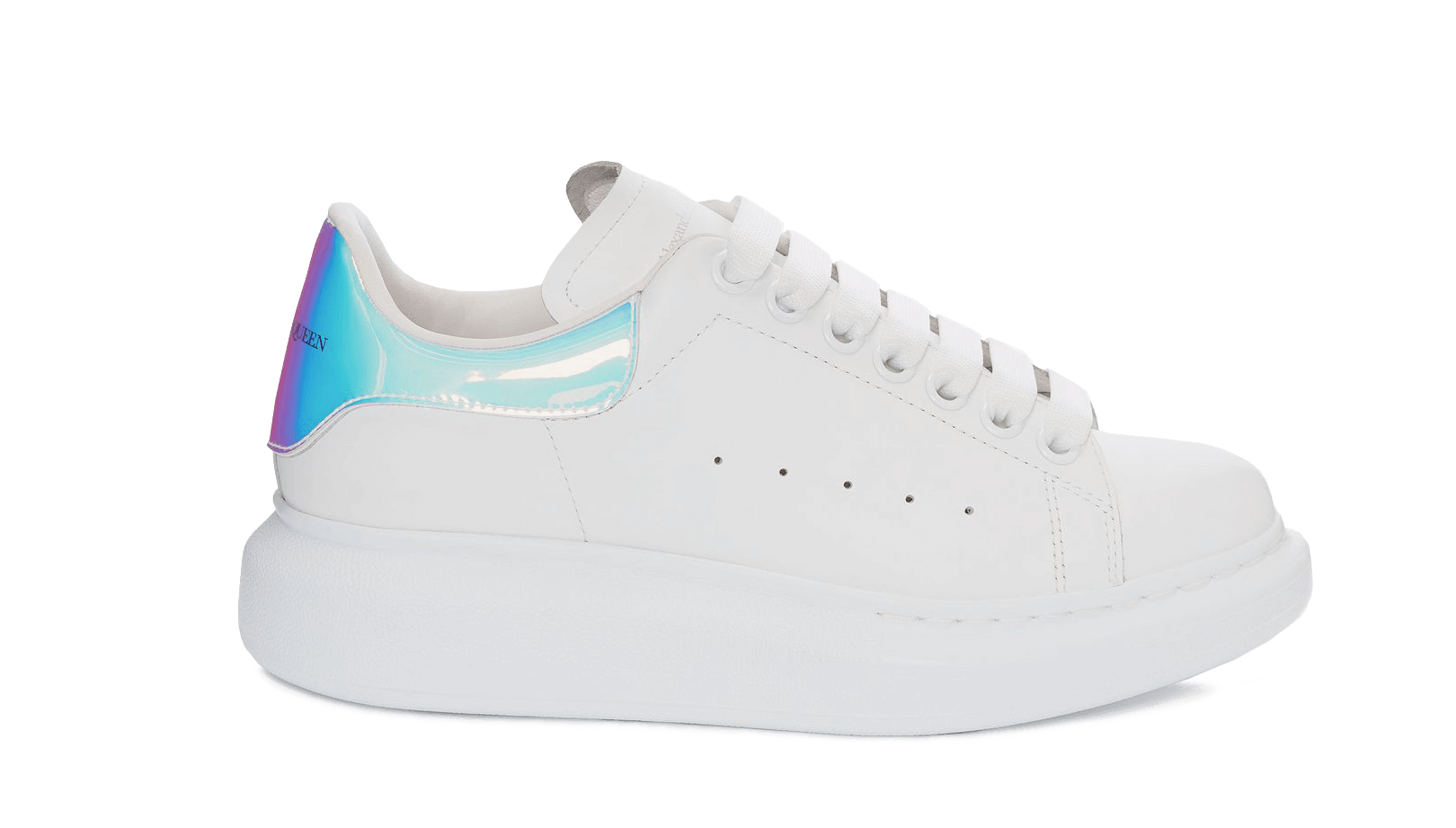 Order new ALEXANDER MCQUEEN     WHITE/SHOCK PINK fake shoes