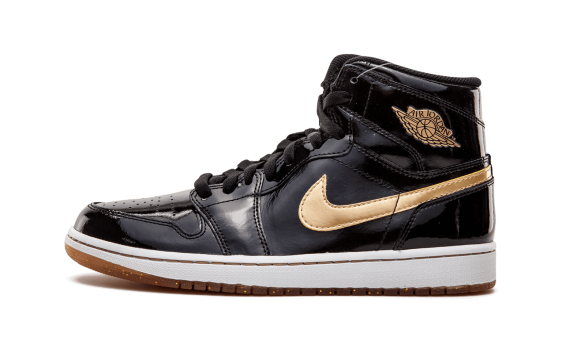 Air-Jordan 1 Retro High OG Black and Gold