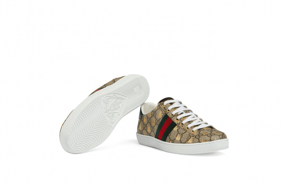 Gucci Ace GG Supreme sneaker With Bees