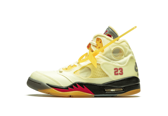Air Jordan 5 Retro SP Off-White Sail