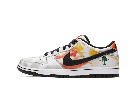 SB DUNK LOW Tie-Dye Rayguns 2019 - White