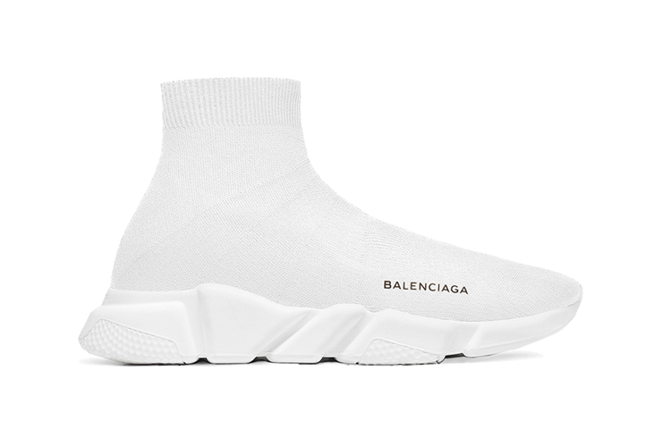 Order  Balenciaga  Speed  Trainers Mid White  unauthorized shoes